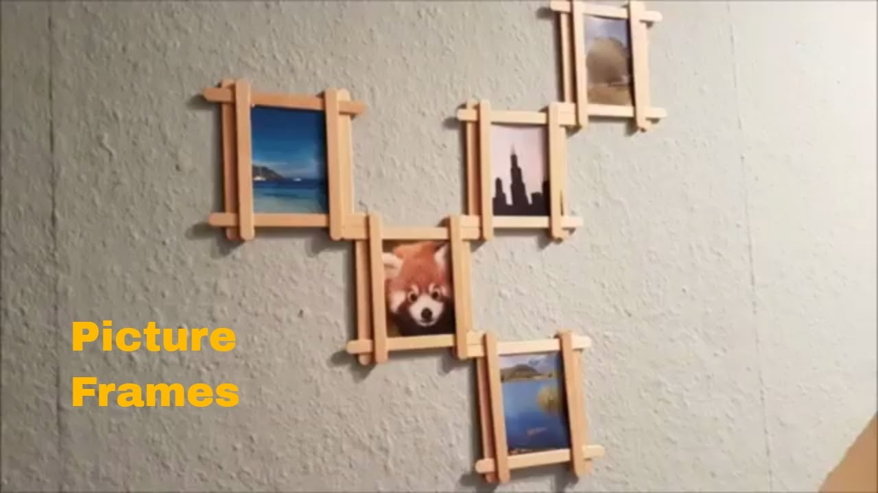Diy Picture Frames For Home Decor Wall Ideas