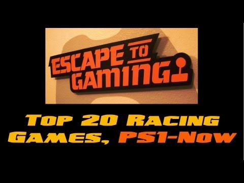 Top 20 Racing Games, PS1 to 2013 VIDEO, Escape To Gaming