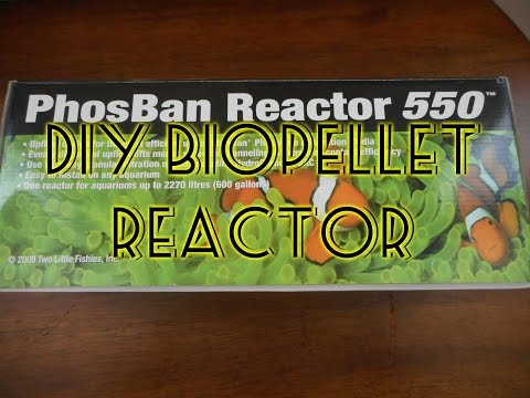 How To Build A PhosBan 550 Biopellet Reactor