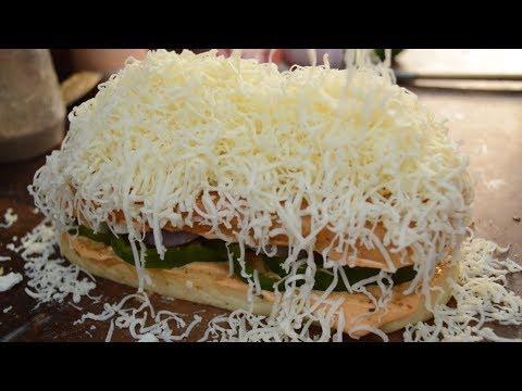 PANEER TIKKA OPEN TOAST   BIG Panini Sandwich   Indian Street Food