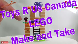 LEGO Friends Clubs With Hearts Tour FREE Build form ToysRUs Canada