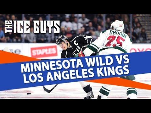 NHL Betting Predictions   Minnesota vs. Los Angeles   Ice Guys