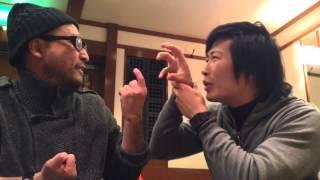 たこ焼きを焼きます。Cooking Octopus Balls (Takoyaki) with Deaf Japanese Comedian Chikara!