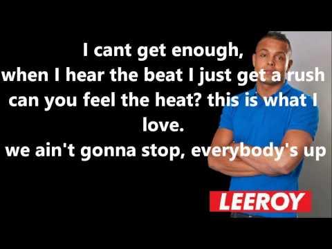 Leeroy Reed Ft Nagla - Cant Get Enough [Lyrics] [TeggysLyrics]