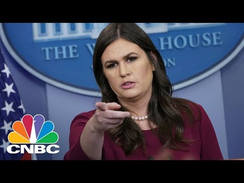 White House Holds Daily Press Briefing - April 11, 2018 | CNBC