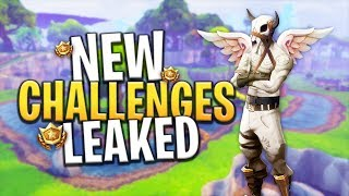 *LEAKED* NEW BATTLE PASS LEAKED SEASON CHALLENGES (WEEK 10) - Fortnite: Battle Royale