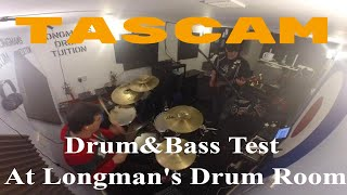 So here we are,and enjoy our new Tascam Interface on a rainy Saturd...