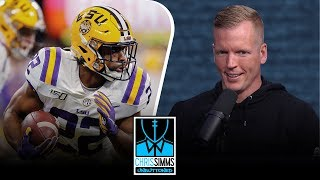 NFL Draft 2020: Chris Simms' Top 5 Running Back Rankings | Chris Simms Unbuttoned | NBC Sports