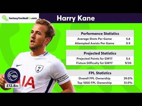 Gameweek 17   Top 5 Fix Player Picks   Fantasy Premier League 2017/18