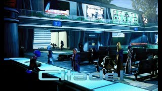 Mass Effect 3 - Citadel Embassies [with music] (1 Hour of Ambience)