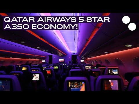 QATAR AIRWAYS A350-900XWB ECONOMY SINGAPORE - DOHA QR943