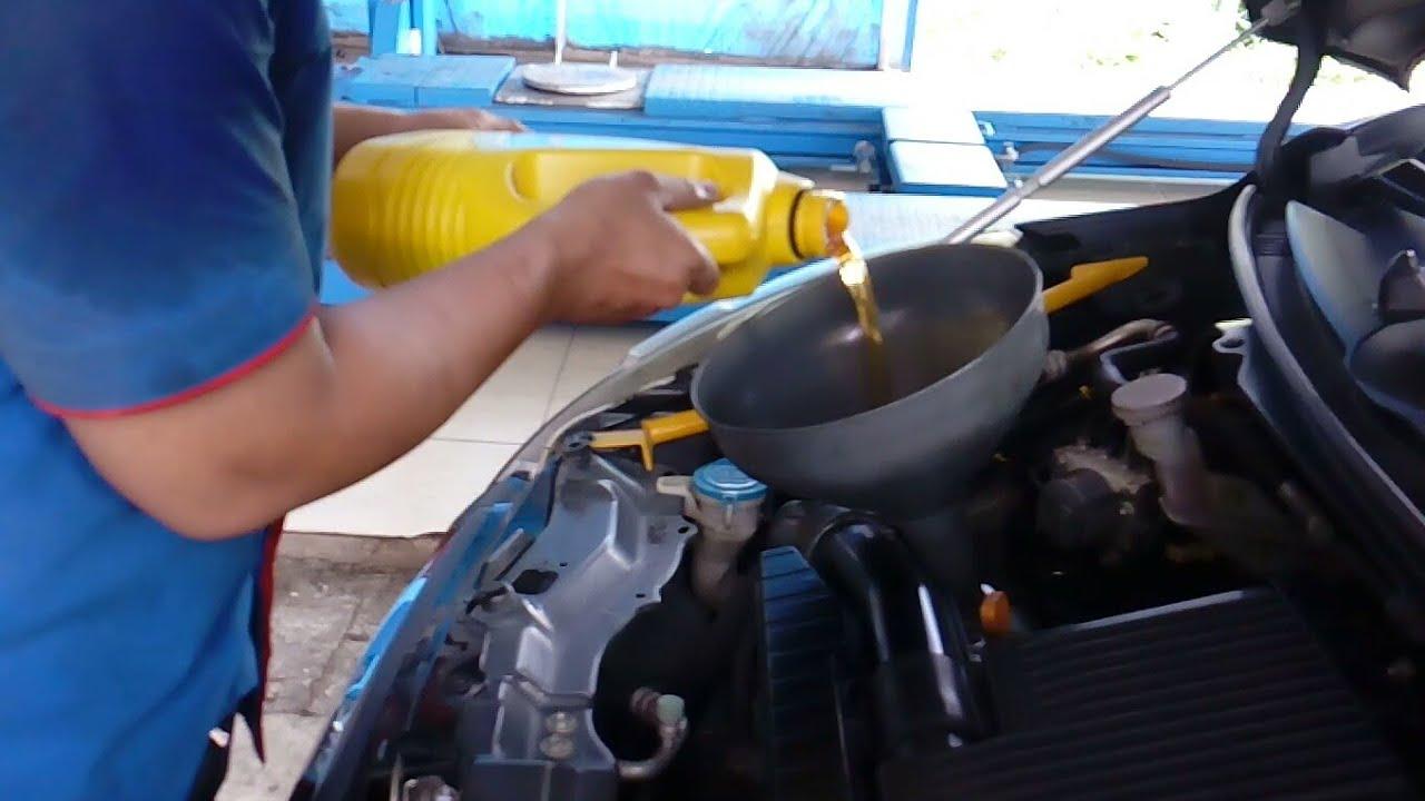 Kapasitas Oli Mesin Grand New Avanza 2016 Spesifikasi Veloz 1.3 Erci Cara Mengganti Pada Suzuki Ertiga Engine Oil Replacements On