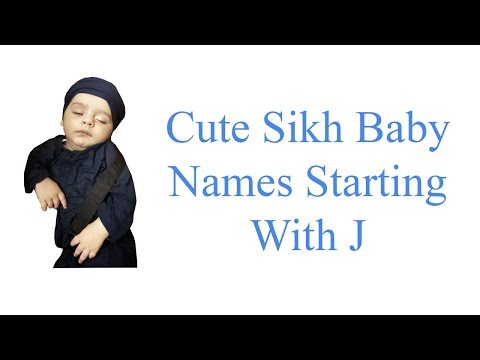 Cute Sikh Baby Names Starting With J