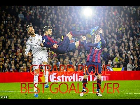 Gerard Piqué - Best Goals Ever