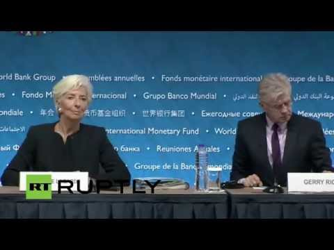 LIVE: Lagarde holds press conference ahead of 2015 Annual Meetings
