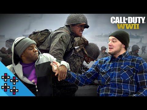 CALL OF DUTY: WWII - BARON CORBIN vs. AUSTIN CREED - Gamer Gauntlet