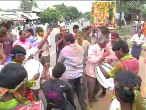 Sri Ganesh Nimajjanam at Ramanagaram on 01.09.2014- Part -1
