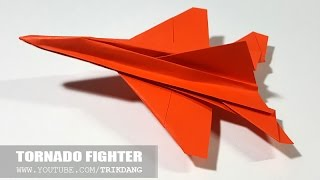 Best Paper Planes: How to make a paper airplane / paper jet that Flies | Tornado