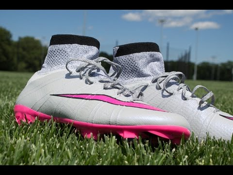 hot sale online 68c11 cb9b2 Nike Mercurial Superfly FG (Wolf Grey Pink)  Review   Play Test