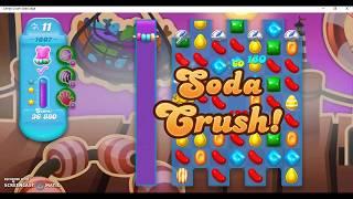 Candy Crush Soda Saga Level 1007 No Booster