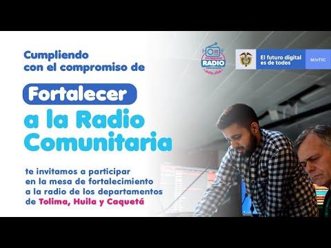 Mesa Regional de Radio comunitaria