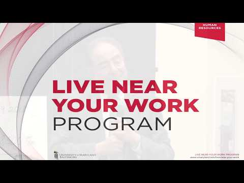 UMB's Live Near Your Work Program