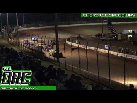 Cherokee Speedway | 3.18.17 | Thunder Bomber | Feature