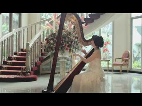 "Sentuh Hatiku - Maria Shandi [Harp Cover] by Maria Pratiwi ""The Harpist"""
