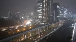 雷雨 Thunderstorm 18/8/27 Tokyo Live Camera ch1 東京 汐留 鉄道 ライブカメラ