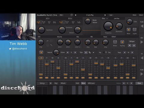 Let's Play with AudioKit Synth One