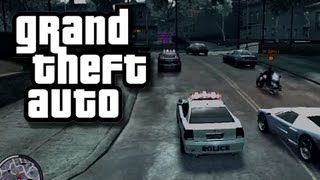 GTA - Cops and Robbers 1 - KYR SP33DY GTA (Funny Custom Game)