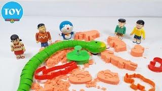đồ chơi Doremon chế hài - con rắn chơi cát động lực cùng xuka và nobita