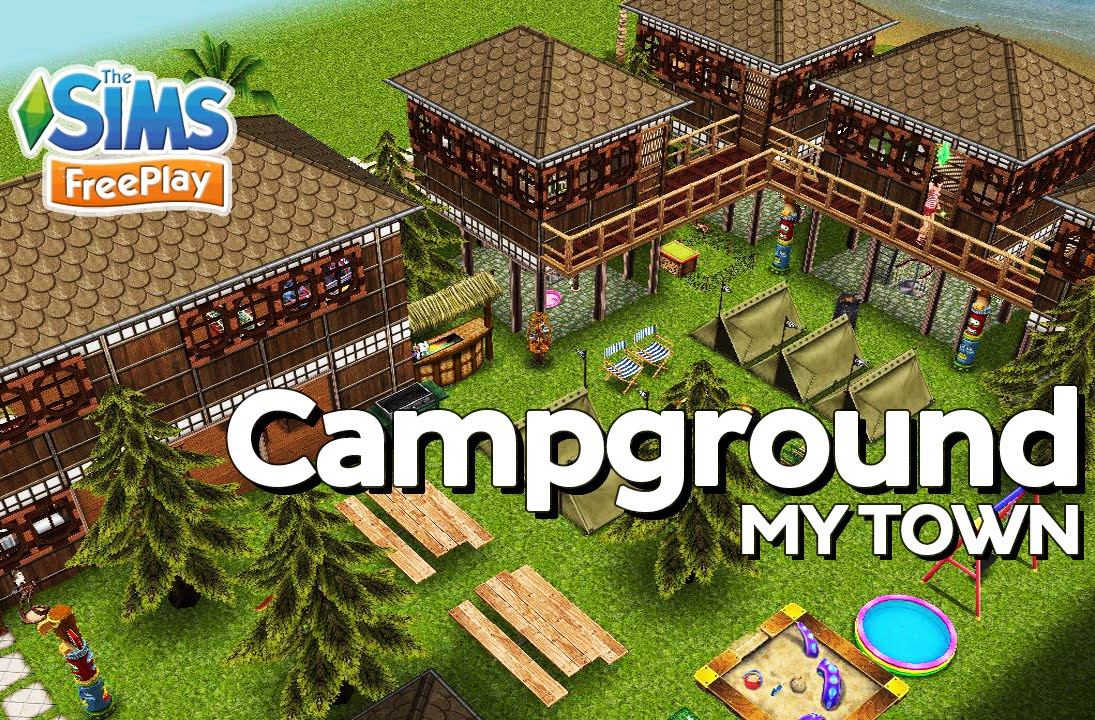 Urban treehouse sims 4 houses - The Sims Freeplay Tree House Campground Original Design