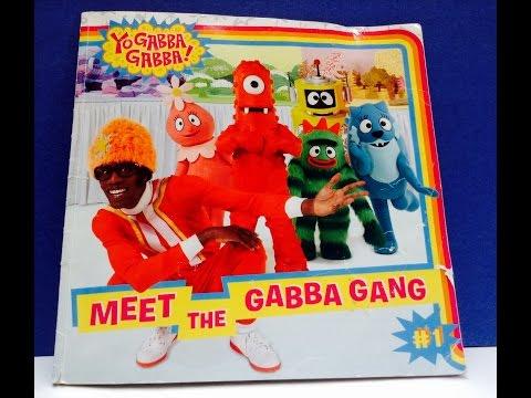 YO GABBA GABBA  Meet The Gabba Gang Book Read Along
