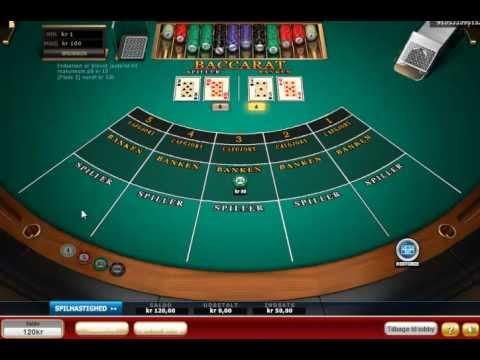 Baccarat - Casino Spil - Mr Spil.dk