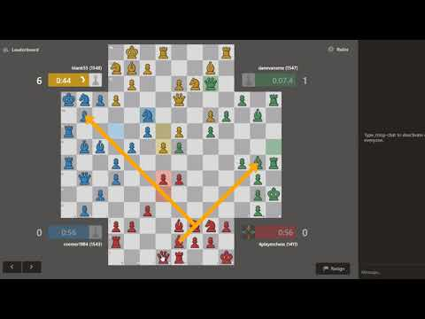 4 player chess #chess.com Strategy : opportunities #No 6