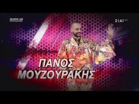 The Voice of Greece 2018   Οι καλύτερες στιγμές του Πάνου Μουζουράκη