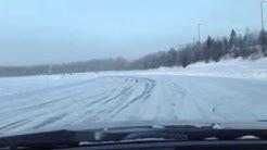 Ice Drift Paltamo 8.2.2013 -24c