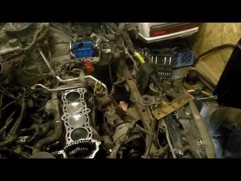 Nissan primera p10 и капиталка двигателя