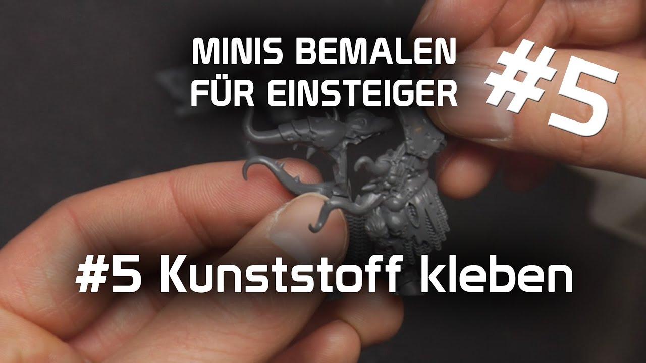 Beliebt Tutorial: Miniaturen bemalen für Anfänger #5 - Plastik kleben XV45