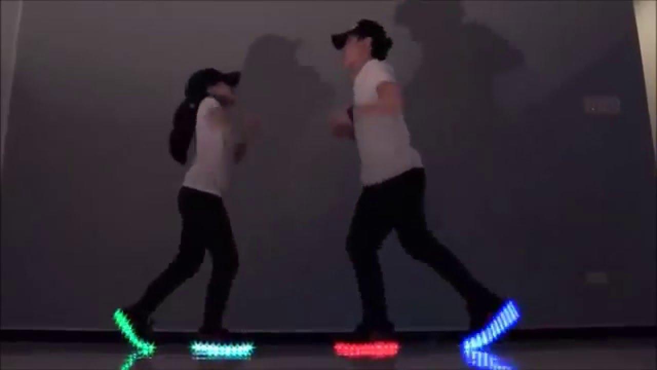 Light-Up Shoe Dancing   LED Shoes