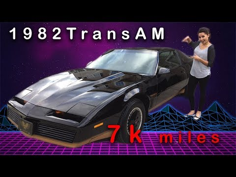 1982 Trans AM with 7K miles