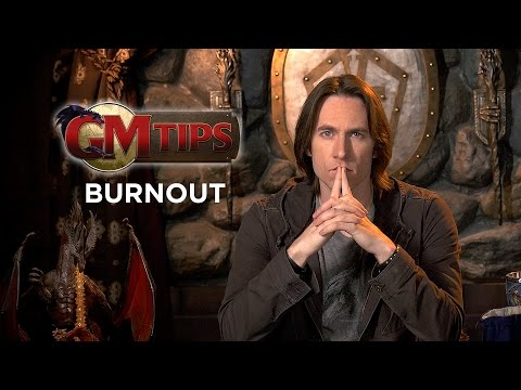How to Prevent RPG Game Master Burnout! (GM Tips w/ Matt Mercer)