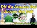Download Dil Ka Arman Hai Aarzoo Hai Yahi Naat With Lyrics By Shamim Faizi 2016 New Naat ShaneNabi.In MP3 song and Music Video