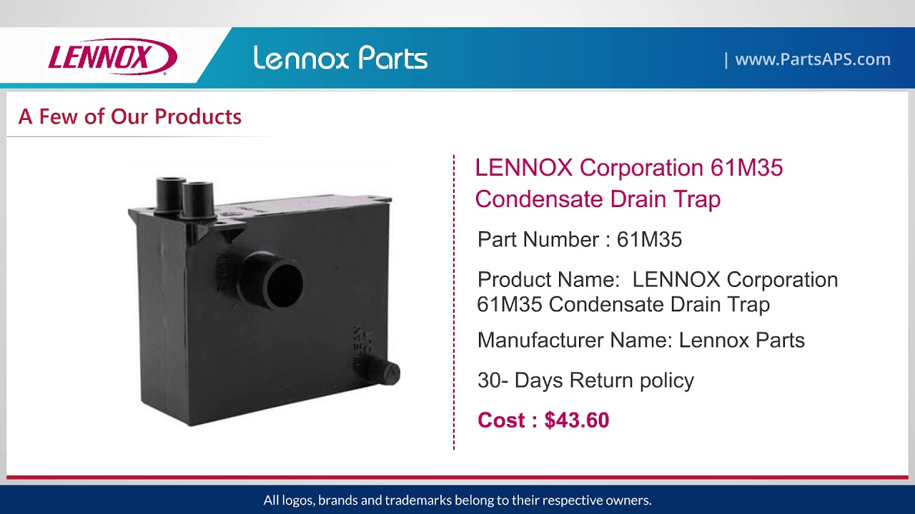 Lennox Air Conditioner Parts