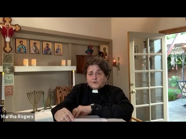 The Bible Study of the Book of Ruth. Session 6.By Reverend Mother Martha Rogers