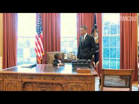 Kid President meets real president at White House