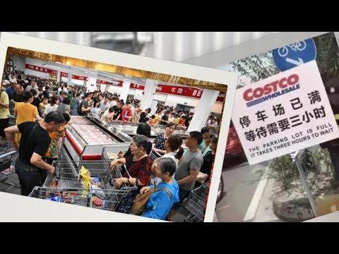 Big Splash On Costco's Opening, Despite Trade War