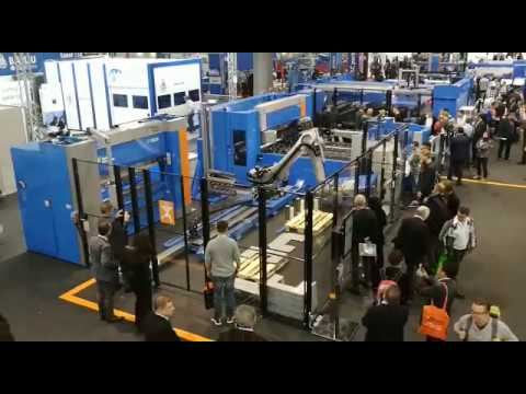Integrated Robotic Bending System ; Cella robotizzata di piegatura