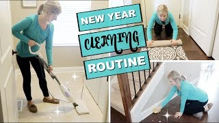 MY CLEANING ROUTINE 2018 | NEW YEAR NEW ROUTINES | MY SIMPLE MONTHLY CLEANING ROUTINE